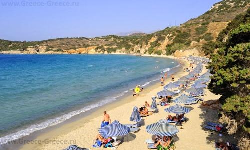Пляжи Агиос Николаоса
