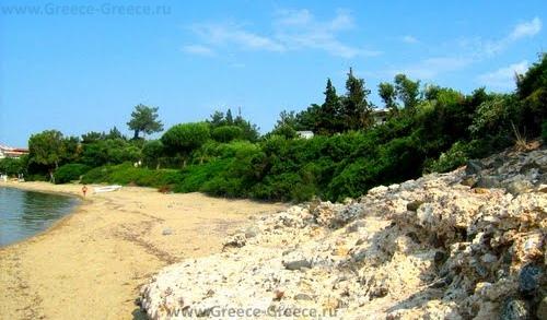 Пляжи Геракини
