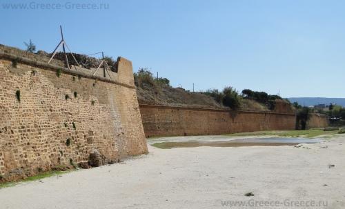 Венецианская крепостная стена в Ханье