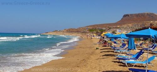 Пляжи Ираклиона