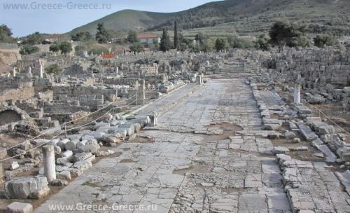 Руины древнего Коринфа