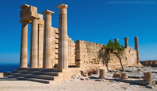 Храм Афины в Линдосе