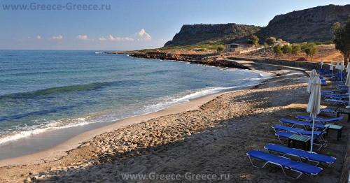 Пляжи Милатоса