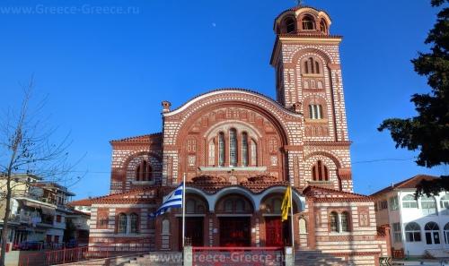Церковь Христа Спасителя в Неа Калликратии