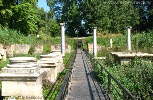 Древний город Дион