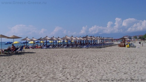 Пляжи Паралия Катерини
