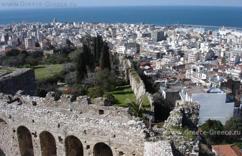 Вид на Патры из крепости