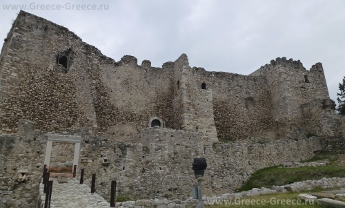 Cредневековый замок в Патрах