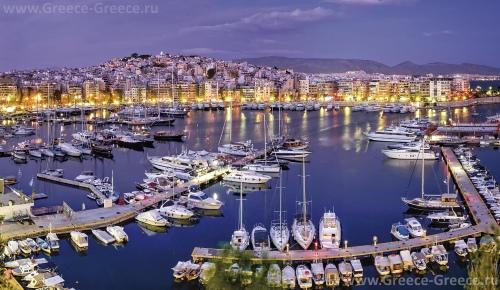 Зеа (гавань Пассалимани) в Пирее