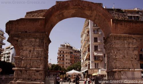 Триумфальная арка в Салониках