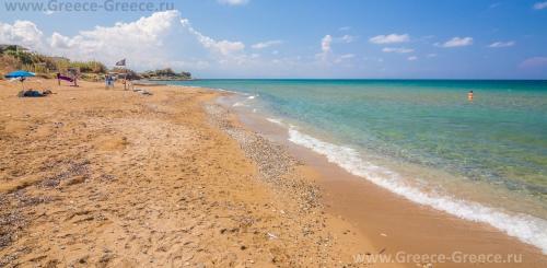 Пляжи Сфакаки