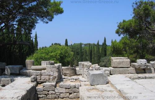 Руины на горе Филеримос