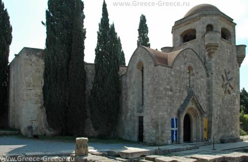 Монастырь Богоматери в Ялиссосе