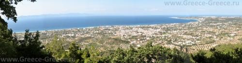 Панорамный вид на Ялиссос