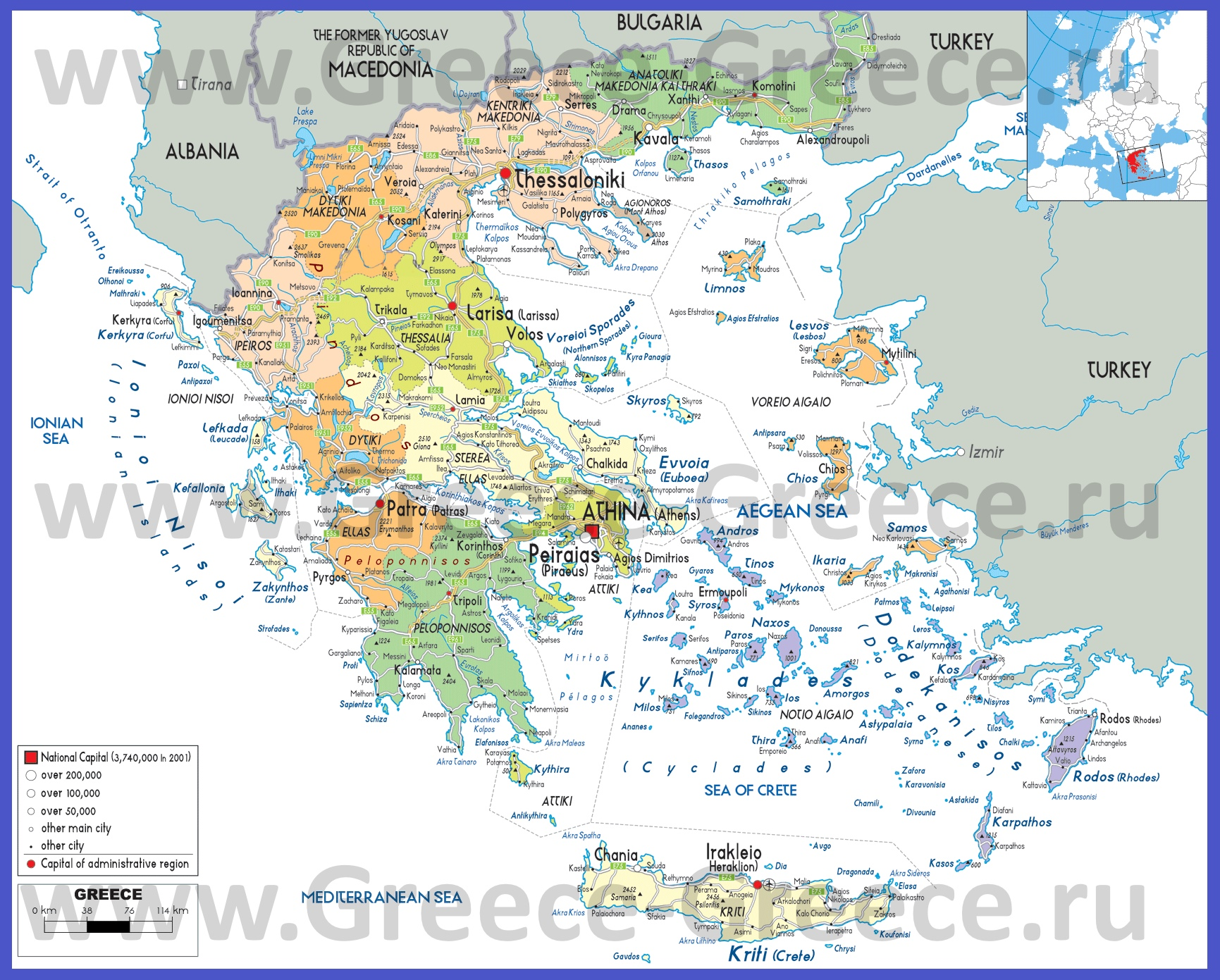 Карта Мира Икариам