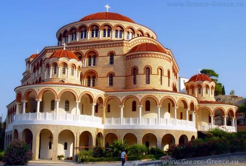 Монастырь св. Нектария на острове Эгина