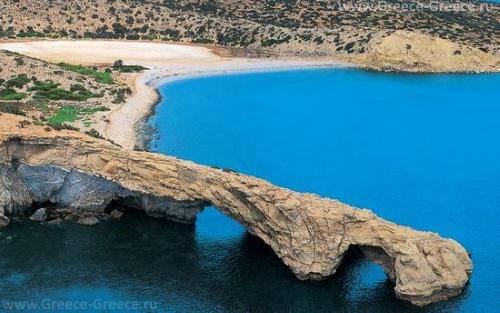 Красивый вид на остров Гавдос