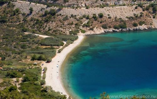 Пляжи Хиоса