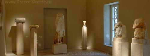Археологический музей на острове Иос