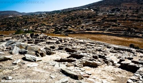 Археологический парк Скарос на острове Иос