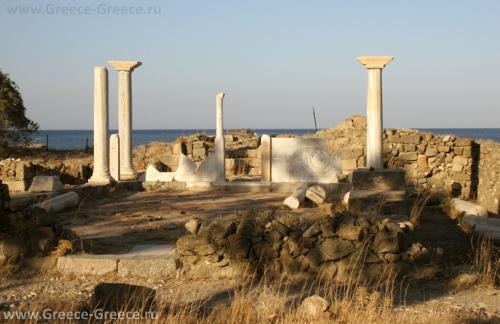 Руины Потидеона на Карпатосе
