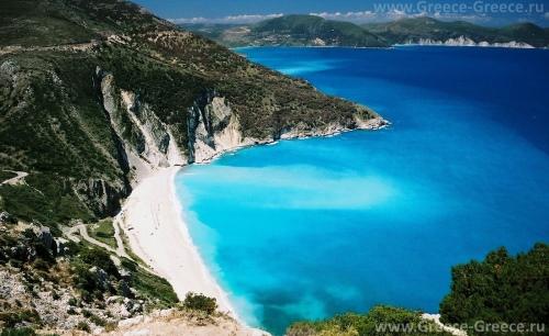 Красивый вид на остров Карпатос