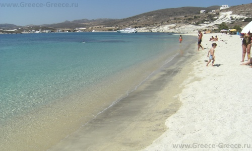 Пляжи Кимолоса