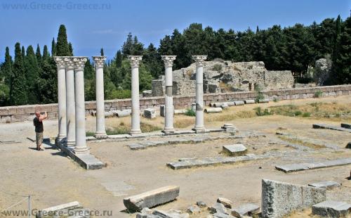 Храм Асклепион на острове Кос