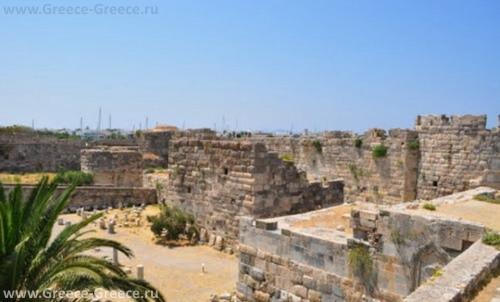 Руины Бастиона иоаннитов на острове Кос