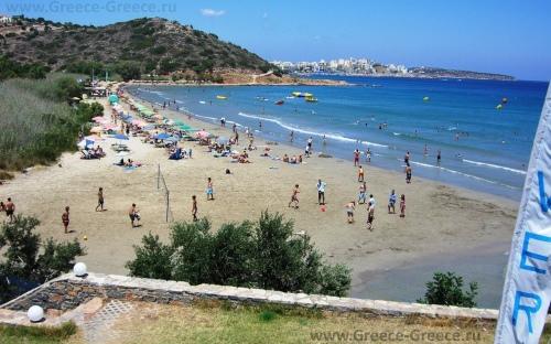 Пляж Альмирос, Крит