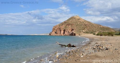 Пляж Палеокастро, Крит