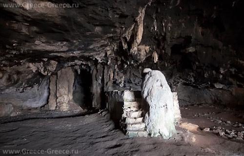Медвежья пещера, Крит