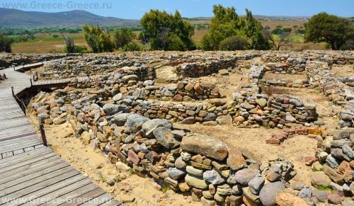Древний город Полиохни на острове Лемнос