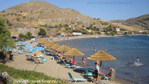 Пляжи Лемноса