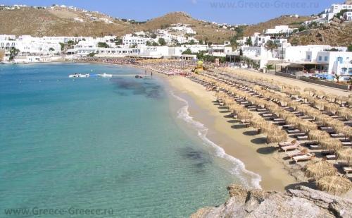 Пляж Платис Ялос
