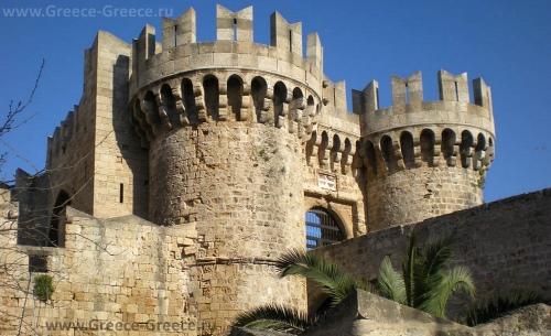 Один из замков рыцарей-госпитальеров на Родосе