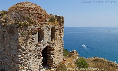 Крепость на острове Скиатос